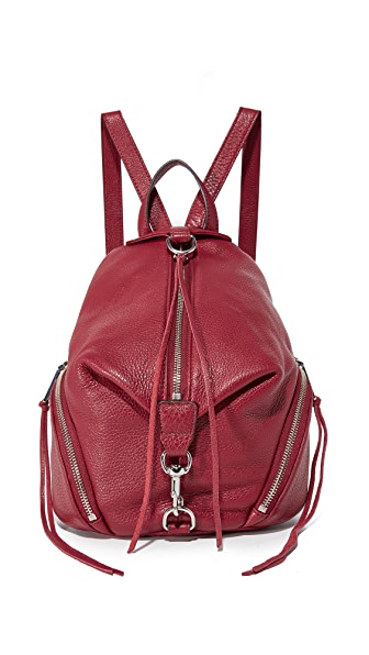 Rebecca Minkoff Medium Julian Backpack - Beet