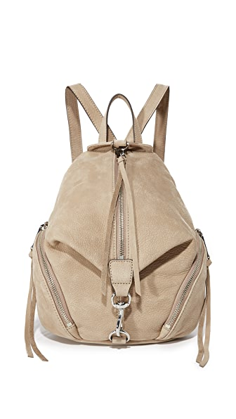Rebecca Minkoff Medium Julian Backpack - Sandstone