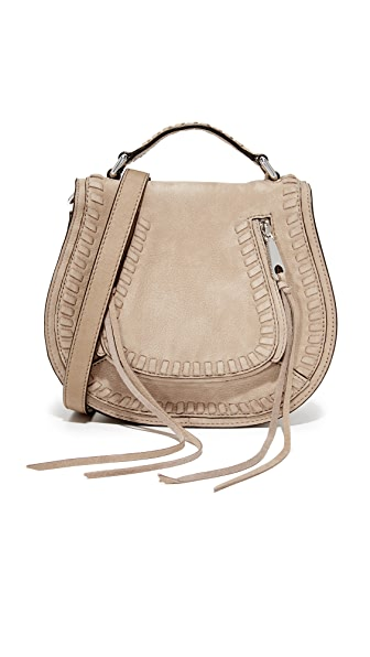 Rebecca Minkoff Small Vanity Saddle Bag - Sandstone