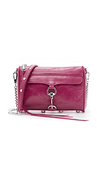 Rebecca Minkoff Mini MAC Cross Body Bag - Beet