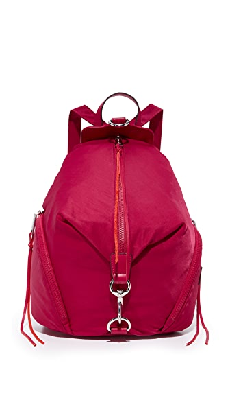 Rebecca Minkoff Nylon Julian Backpack - Beet