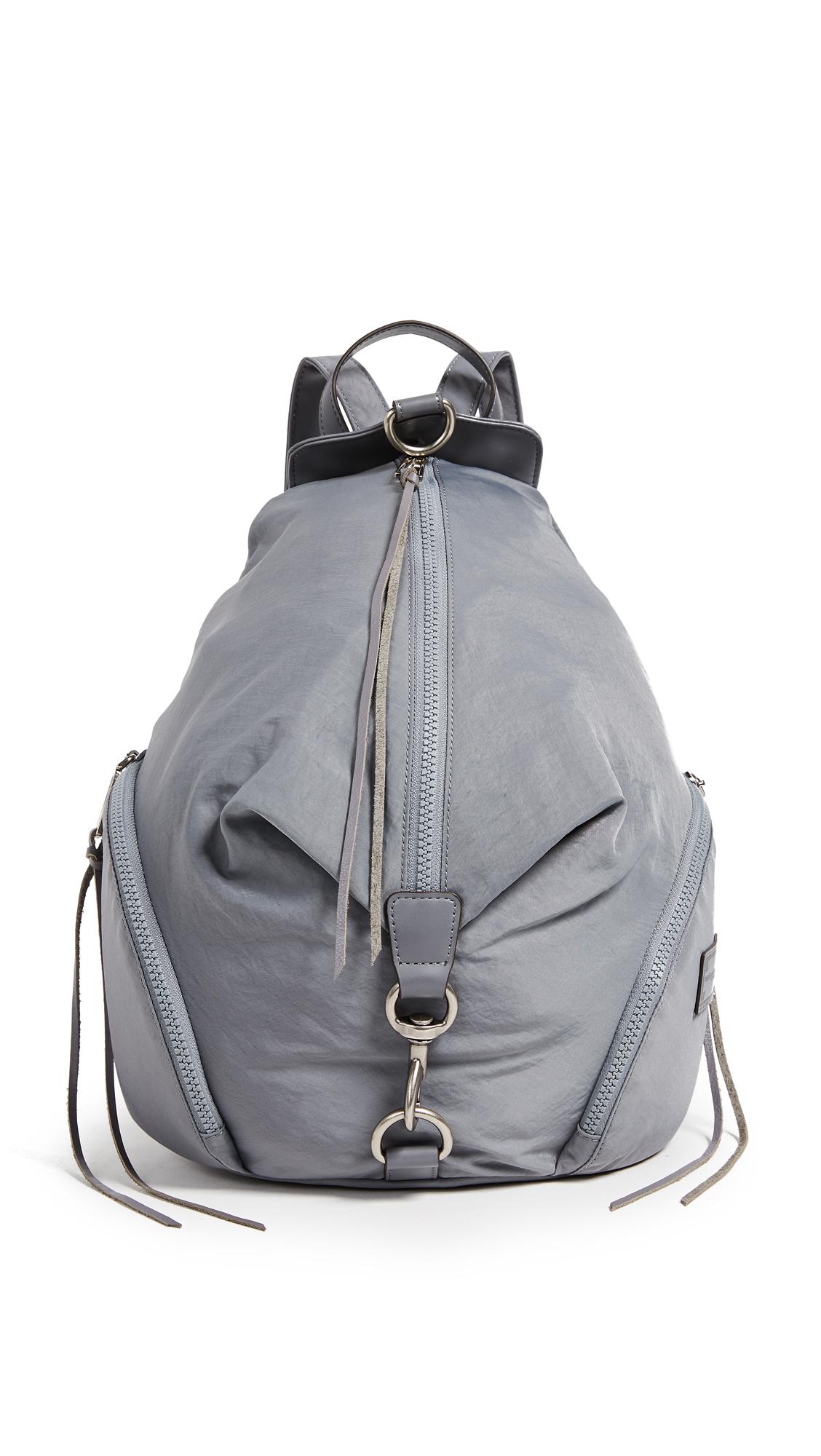 Rebecca Minkoff Nylon Julian Backpack - Grey