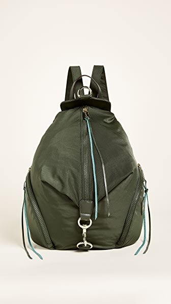 Rebecca Minkoff Nylon Julian Backpack - Army