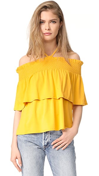 Rebecca Minkoff Ghirdalle Top - Sunray