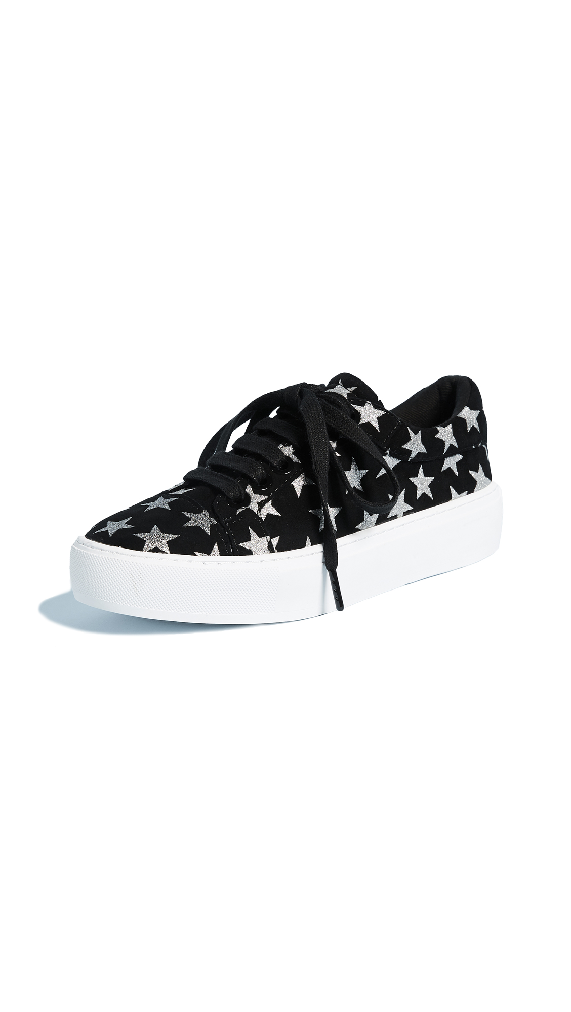 Rebecca Minkoff Nadia Galaxy Print Sneakers - Black