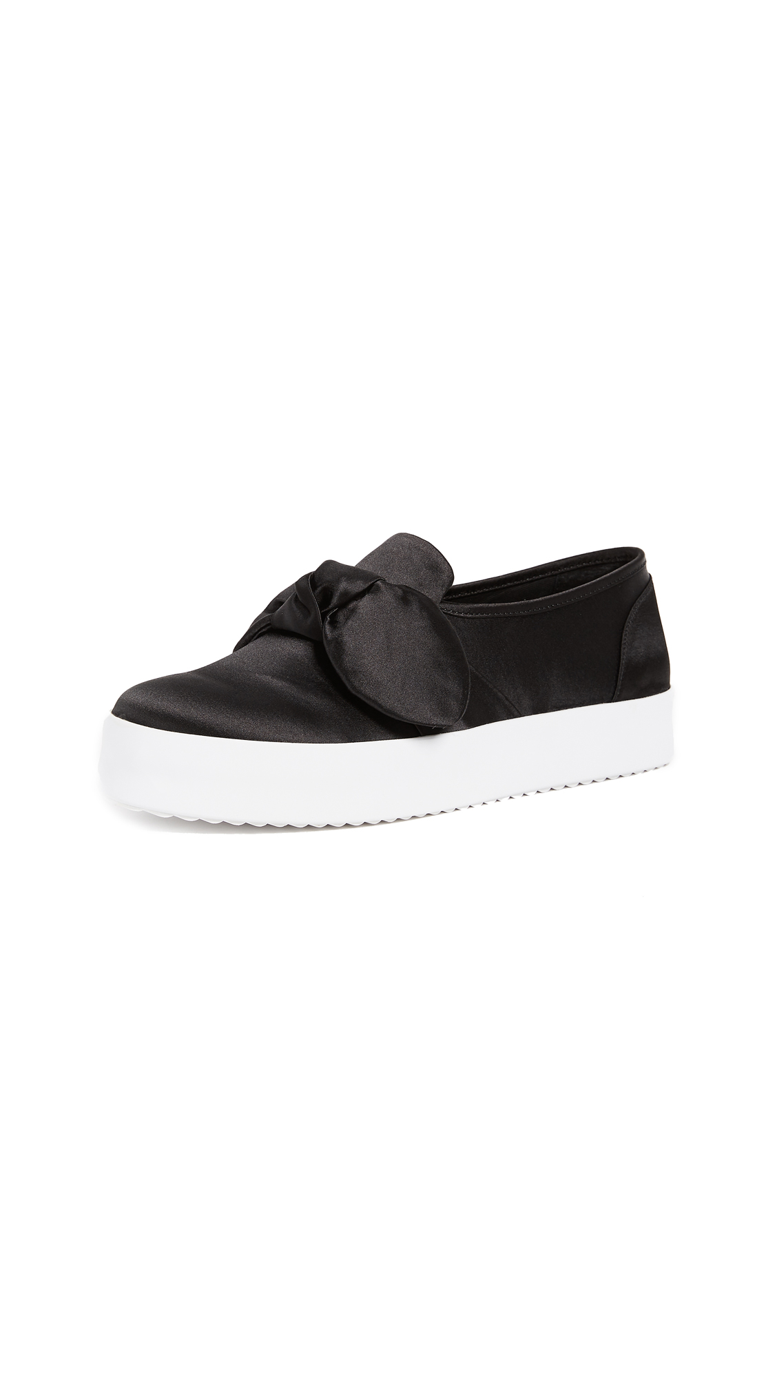 Rebecca Minkoff Stacey Bow Sneakers - Black
