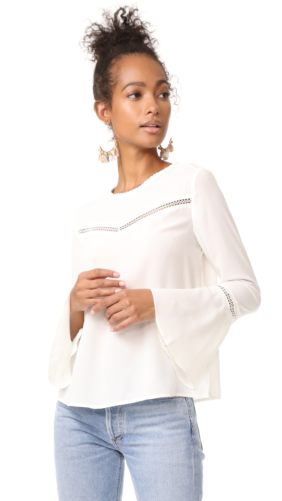 Rebecca Minkoff Chava Top - White