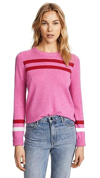 Rebecca Minkoff Marlowe Sweater In Cherries/Multi