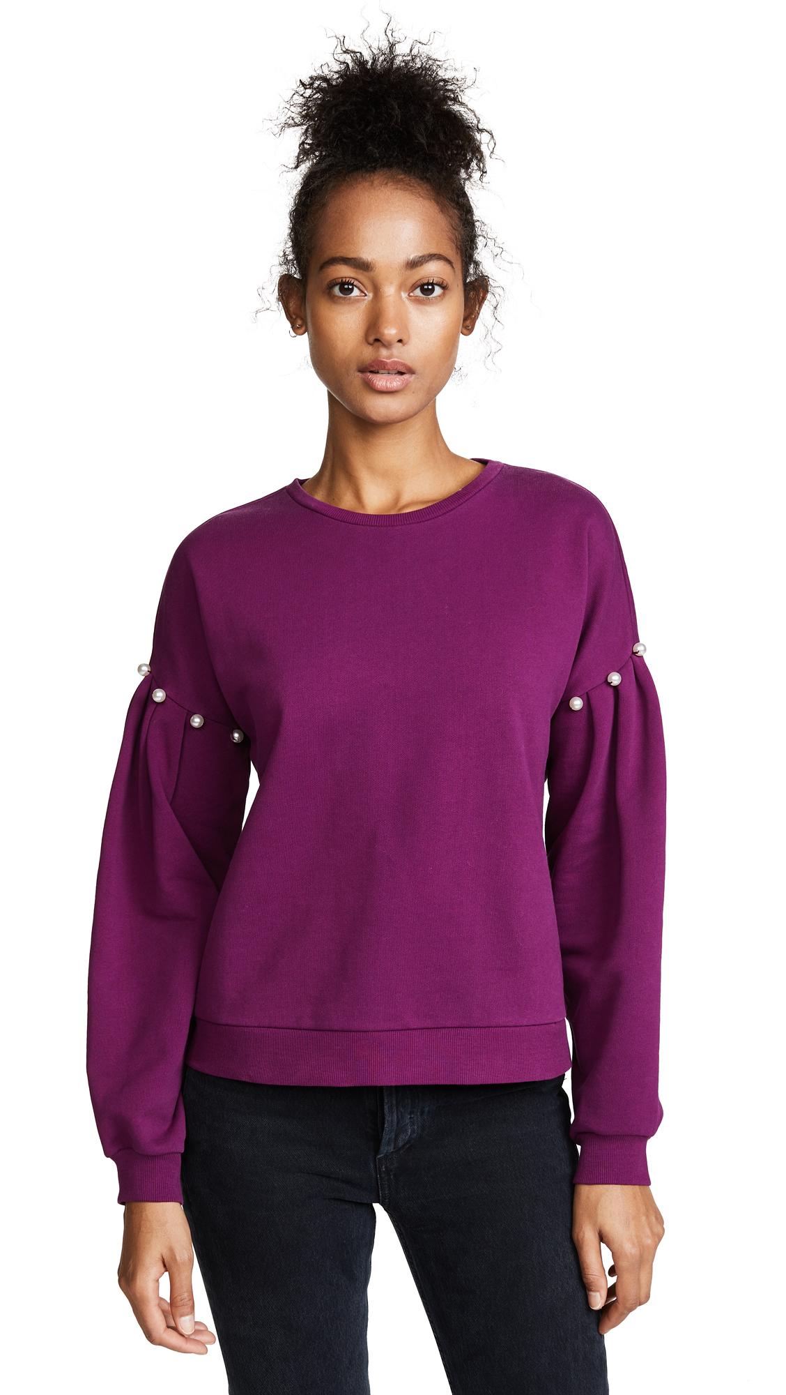 Rebecca Minkoff Ellison Sweatshirt - Plum