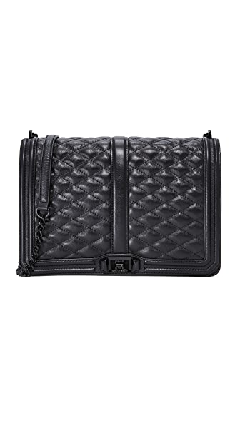 Rebecca Minkoff Jumbo Love Bag - Black