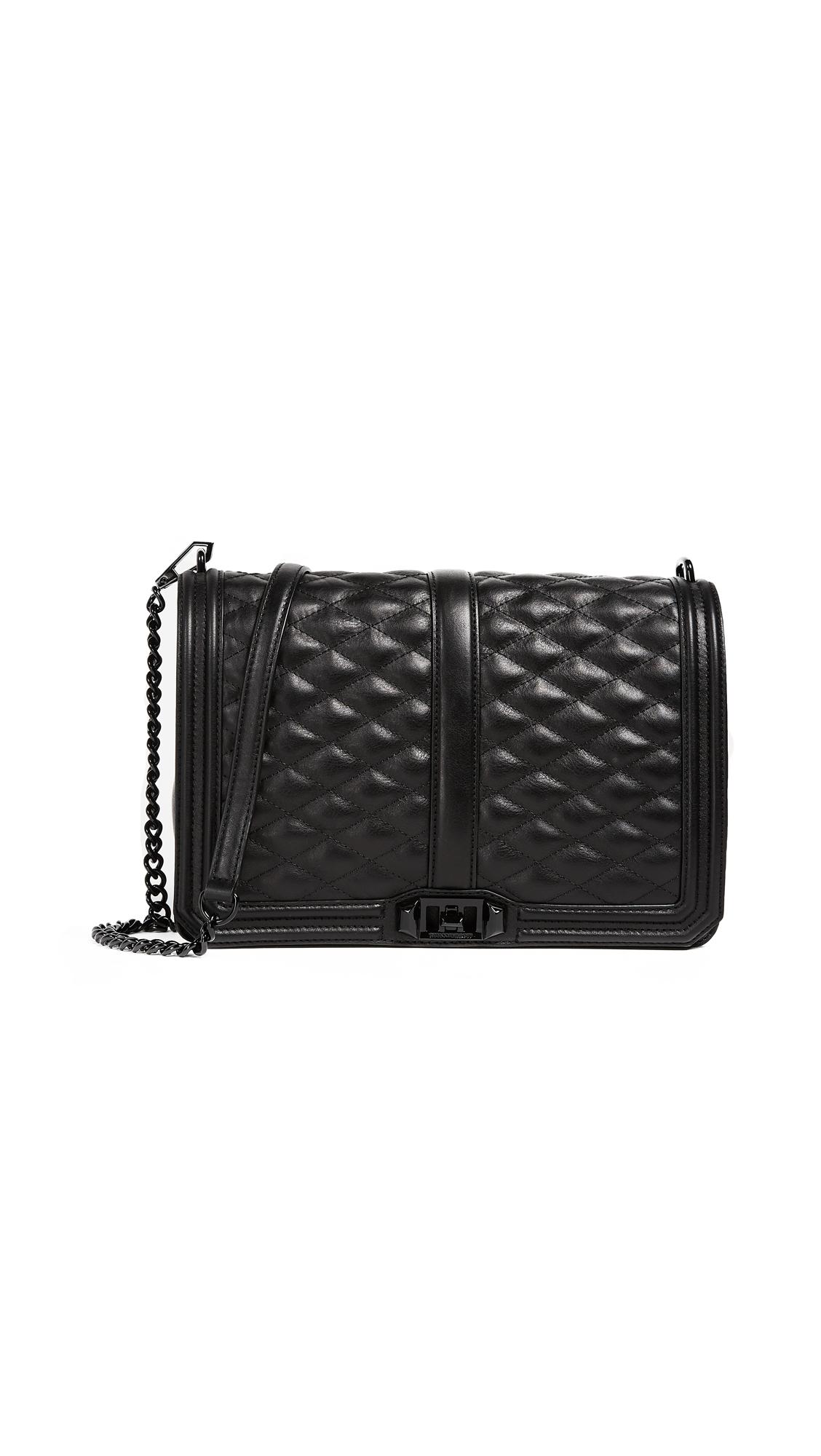 Rebecca Minkoff Jumbo Love Bag - Black