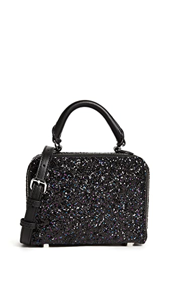 Rebecca Minkoff Glitter Box Cross Body Bag