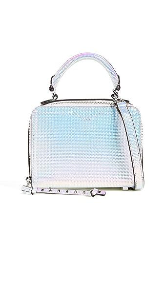 Rebecca Minkoff Hologram Box Cross Body Bag In Hologram