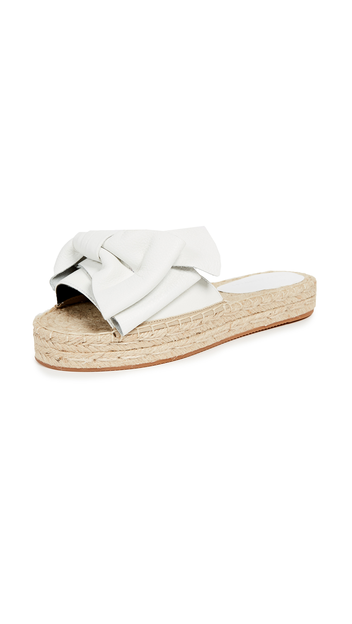 Rebecca Minkoff Giana Slides - Optic White