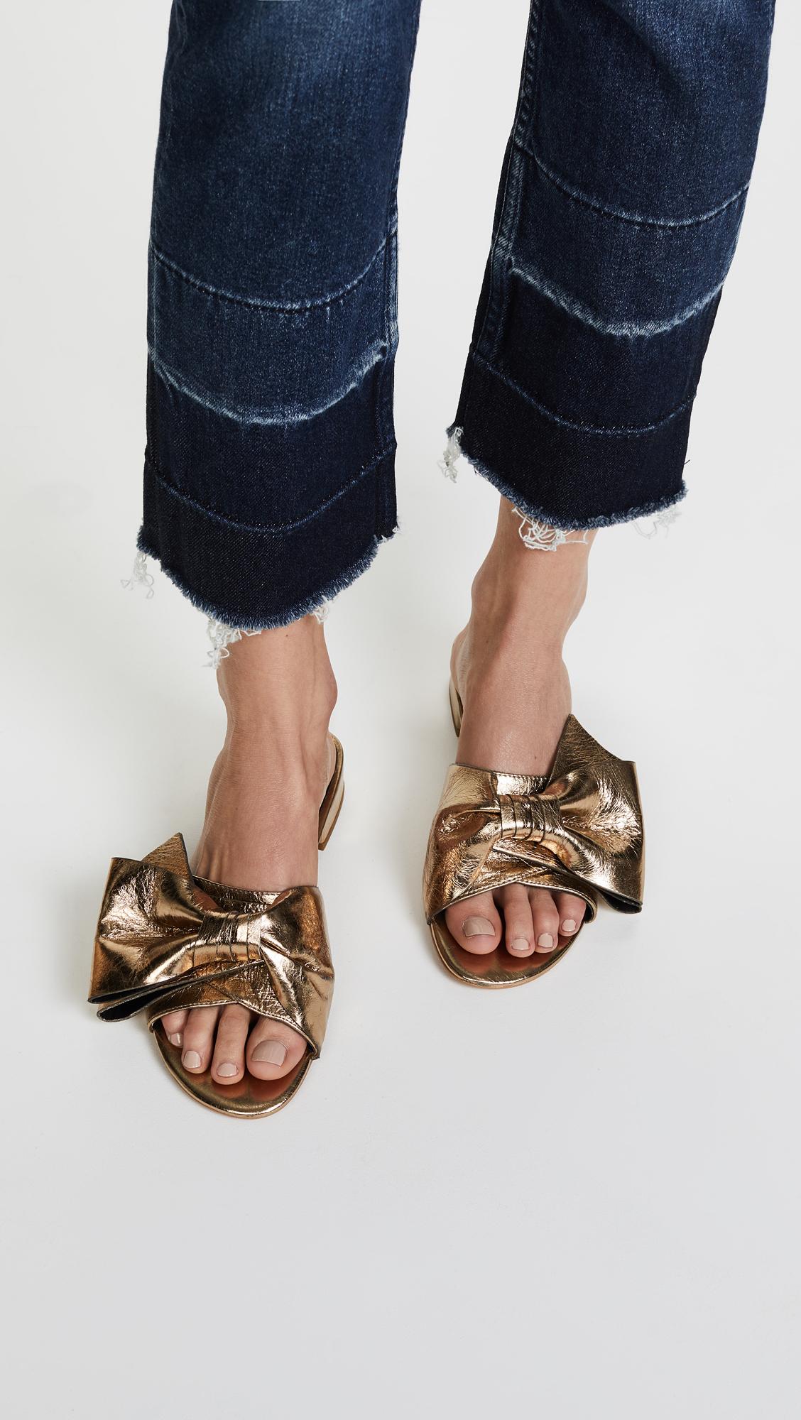 Rebecca Minkoff Calista Slide Sandal 0TlPK