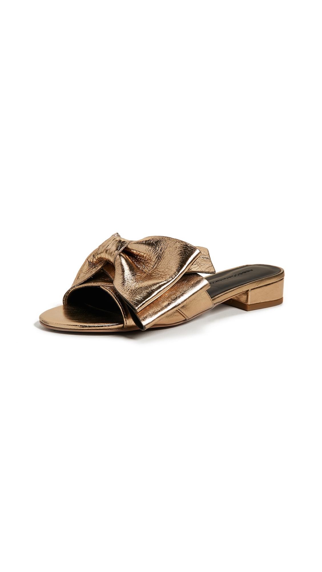 Rebecca Minkoff Calista Slides - Gold
