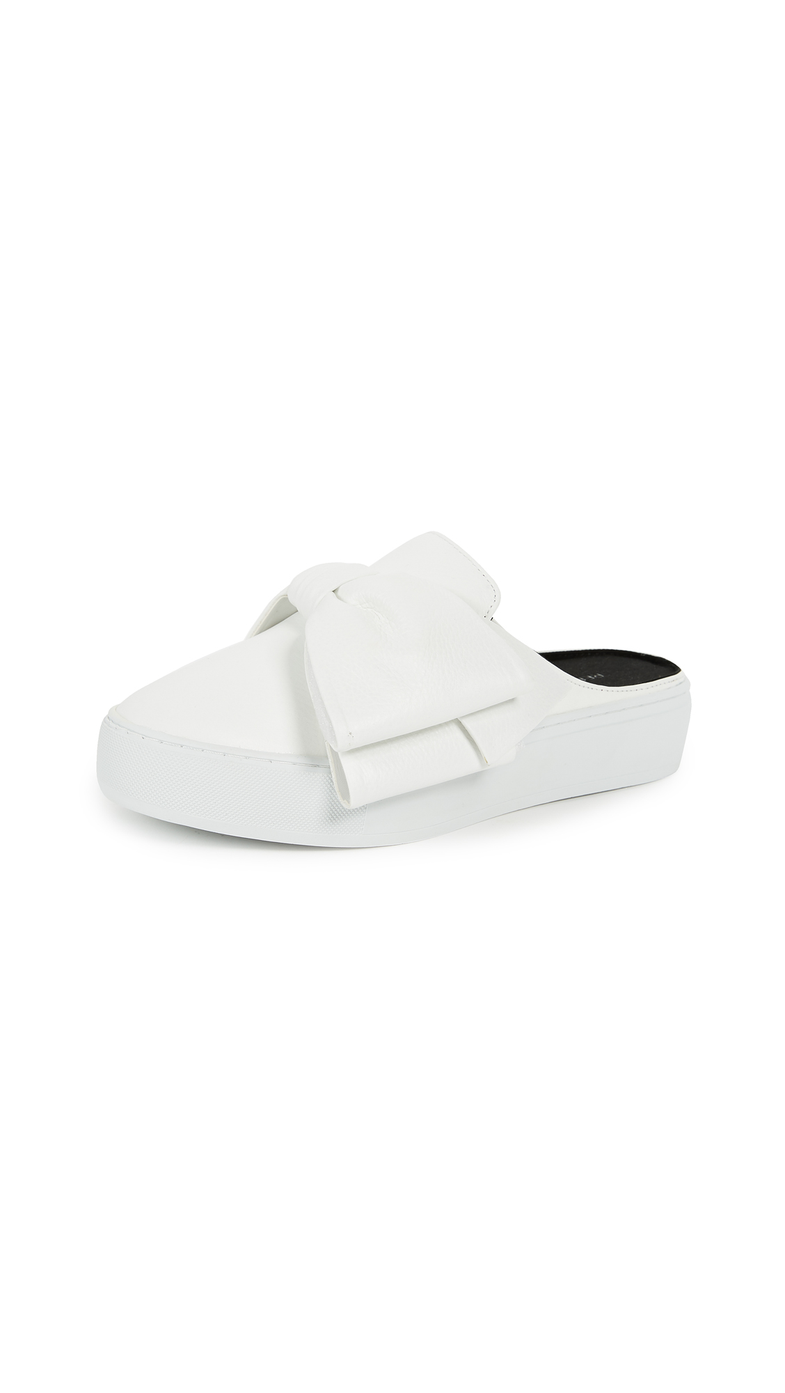 Rebecca Minkoff Neva Mule Sneakers - Optic White