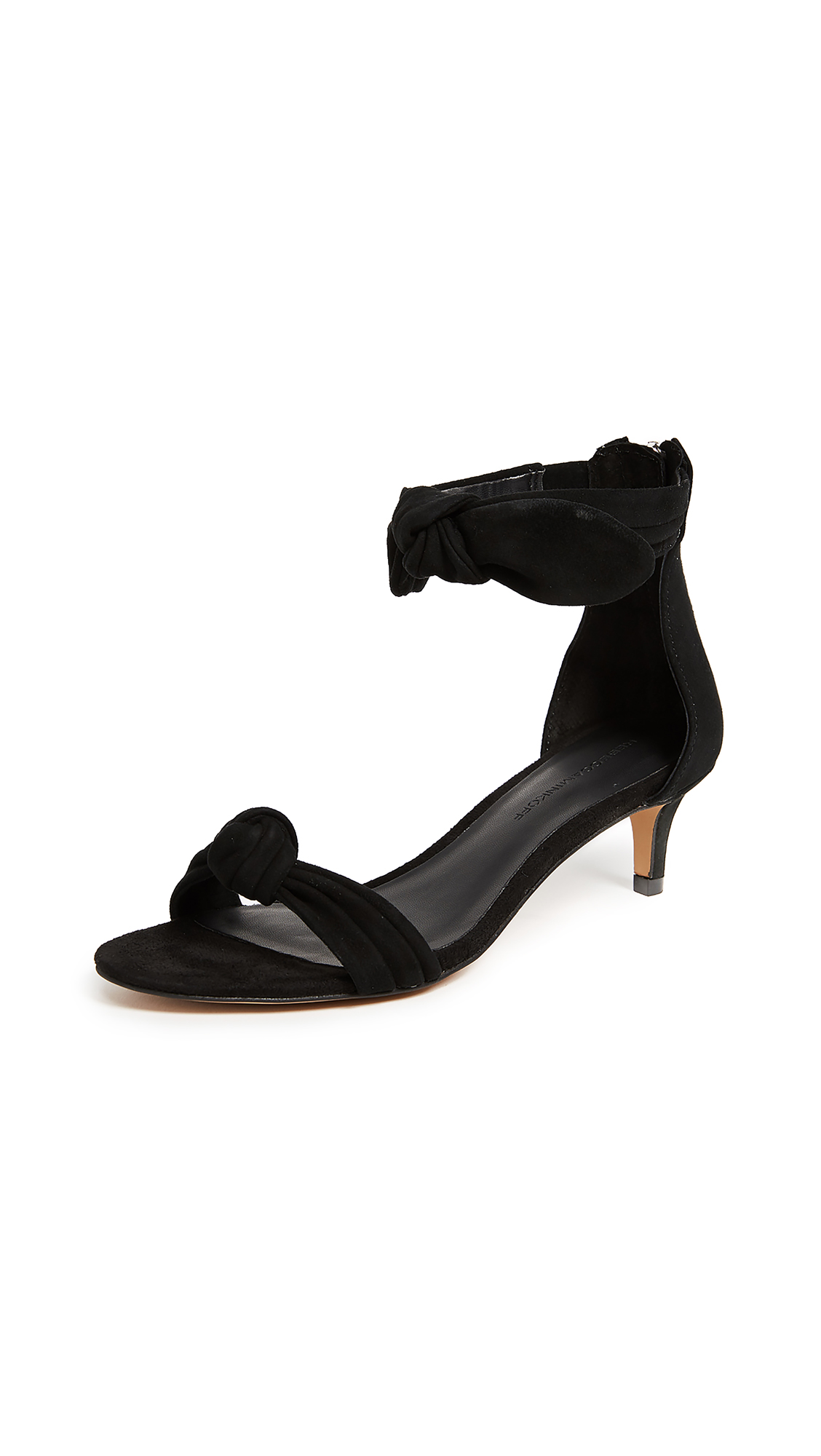 Rebecca Minkoff Kaley Sandals - Black