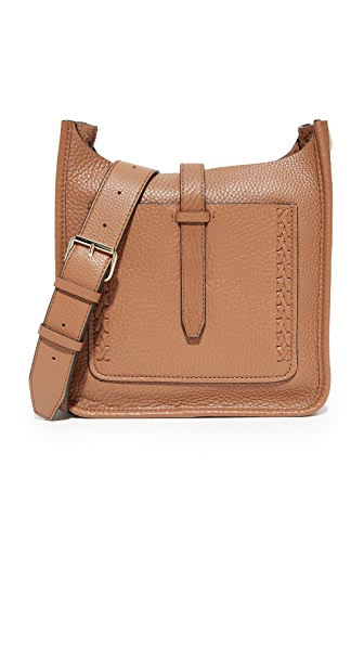 Rebecca Minkoff Small Unlined Feed Bag with Whipstitch - Almond
