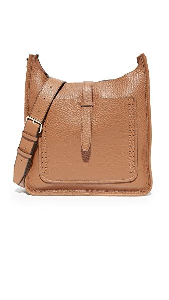 Rebecca Minkoff Unlined Feed Bag with Whipstitch - Almond