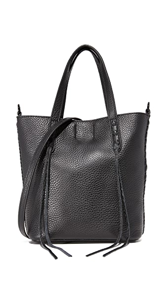 Rebecca Minkoff Mini Unlined Feed Bag - Black
