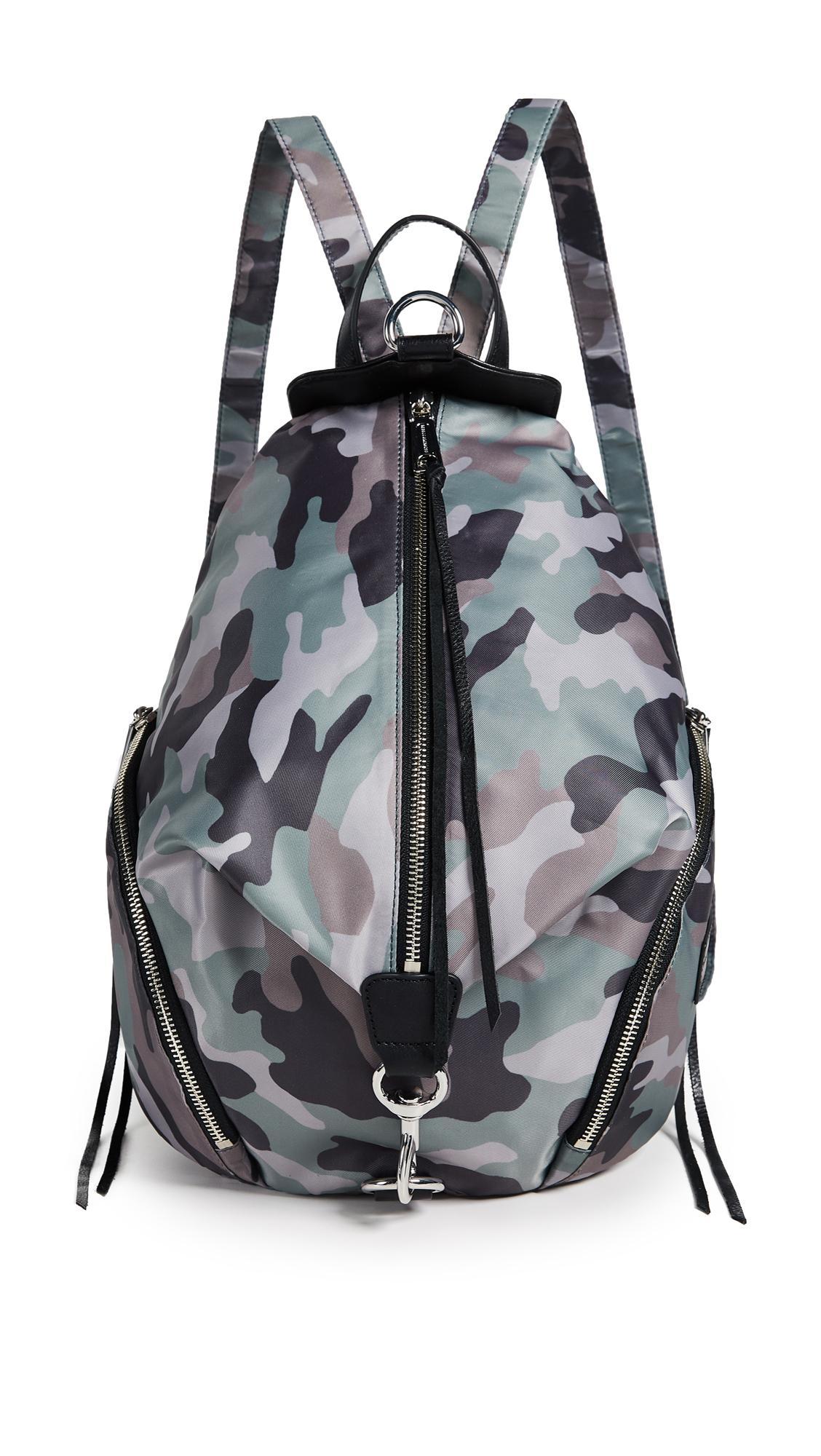 Rebecca Minkoff Nylon Julian Backpack - Camo Print