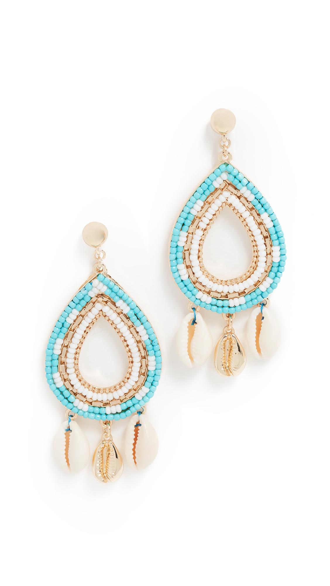 Rebecca Minkoff Louisa Chandelier Earrings - Turquoise