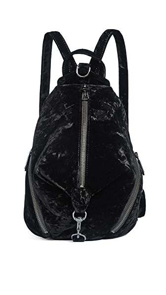 Rebecca Minkoff Medium Julian Backpack In Black