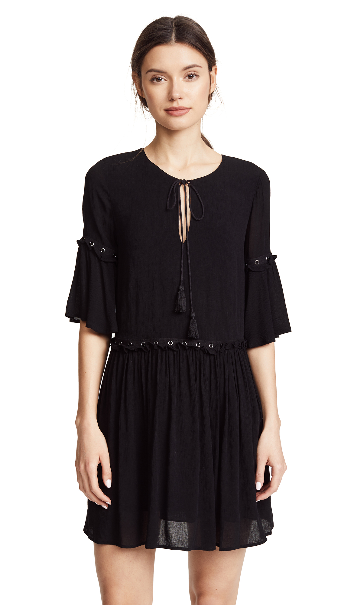 Rebecca Minkoff Helen Dress In Black