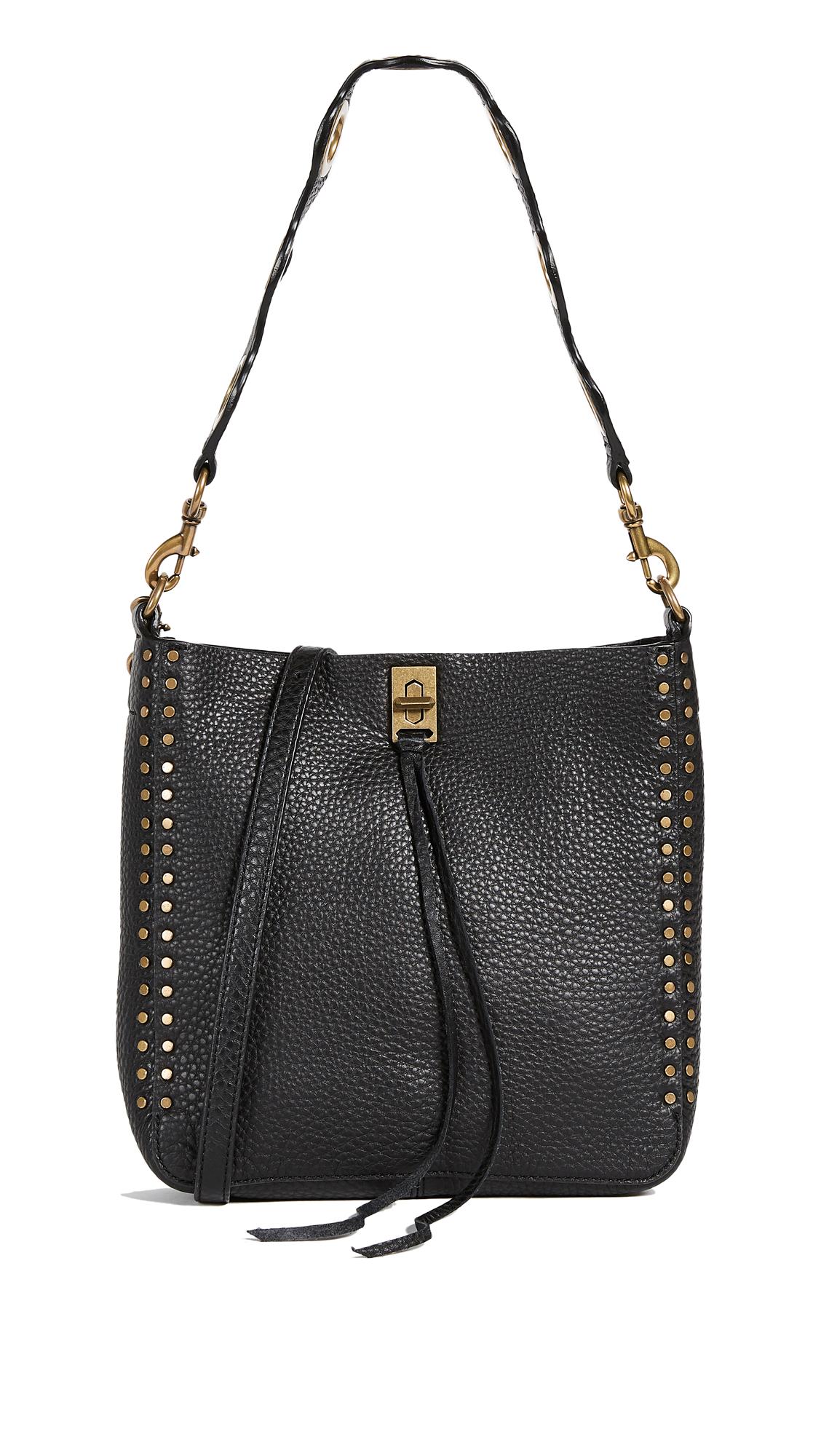Rebecca Minkoff Darren Small Feed Bag - Black