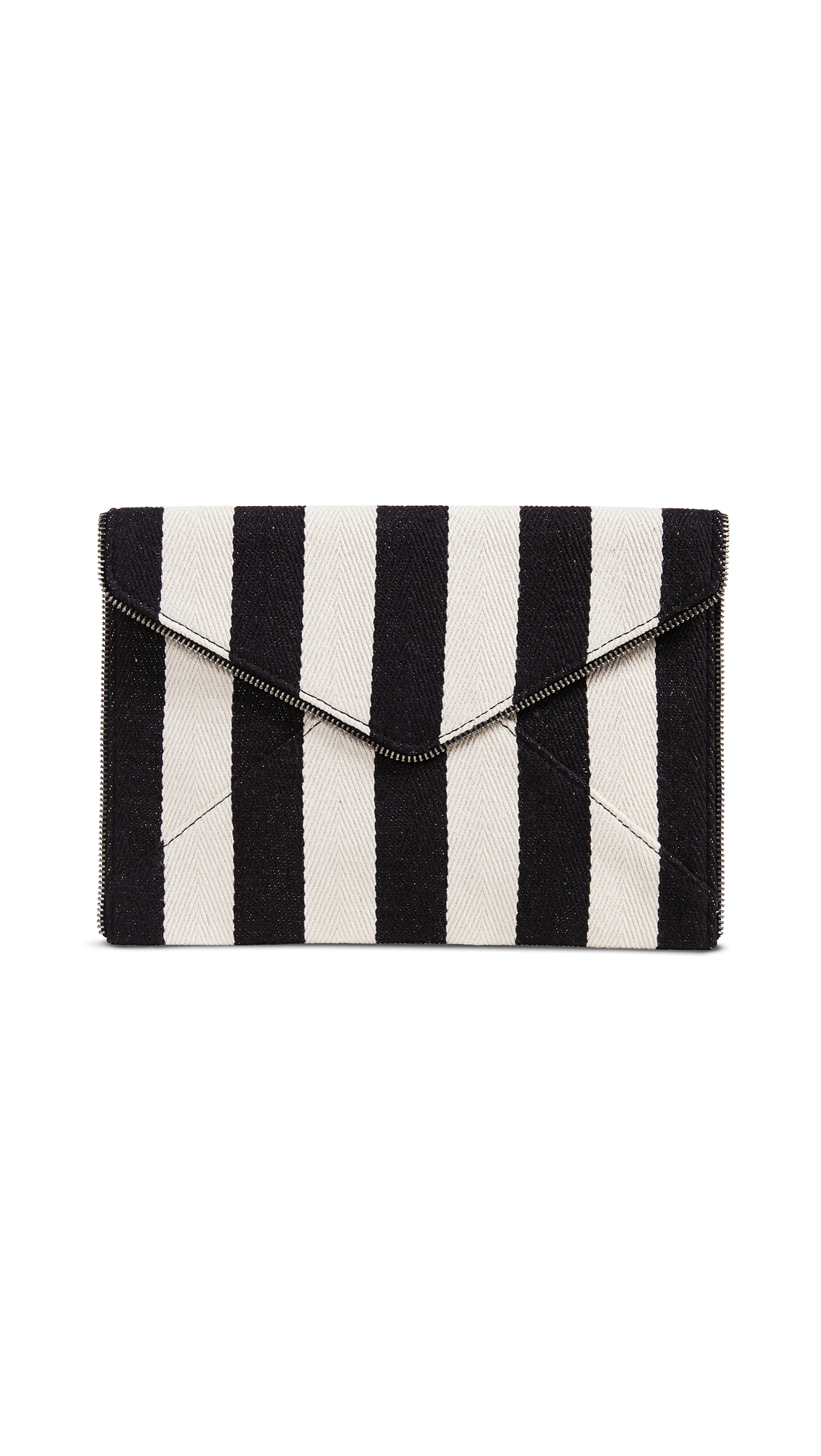 Leo Clutch, Black/White