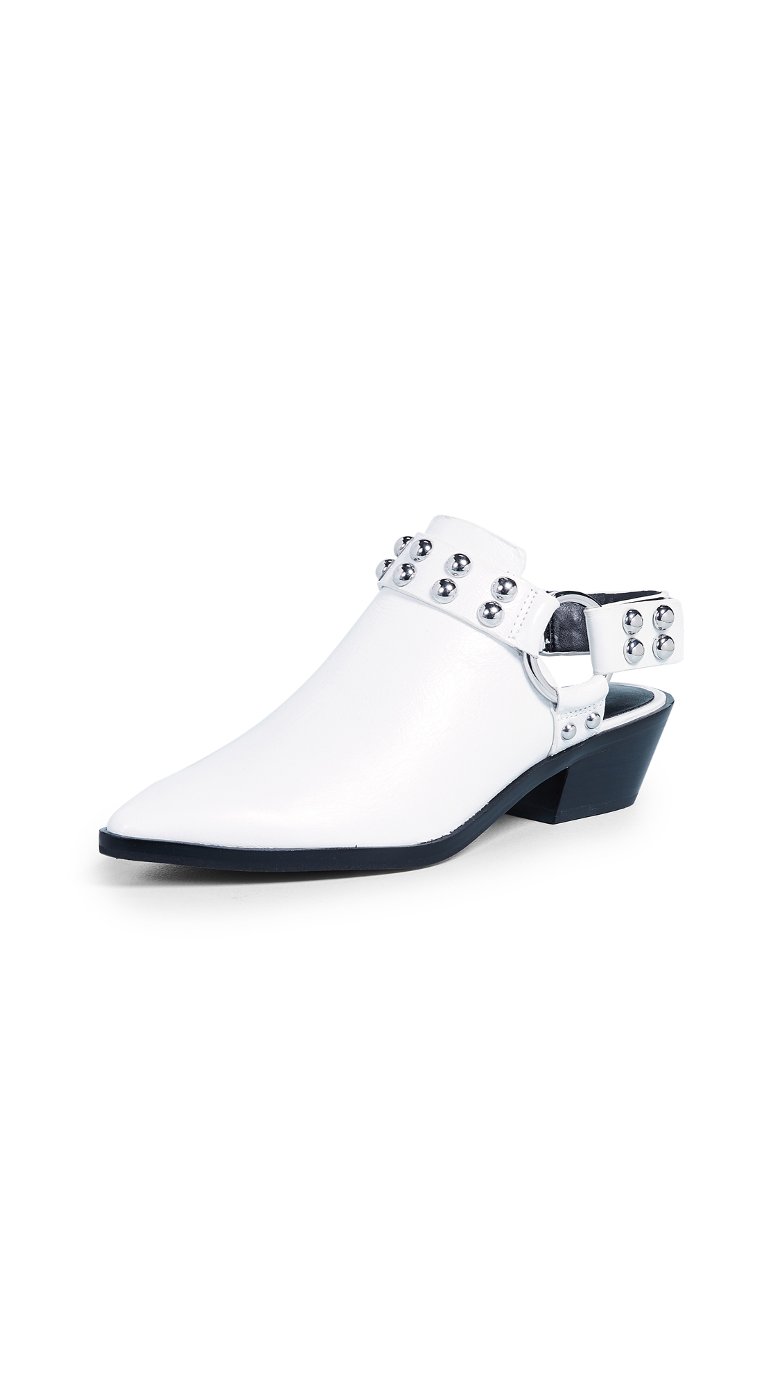Rebecca Minkoff Korlyn Studded Booties - White