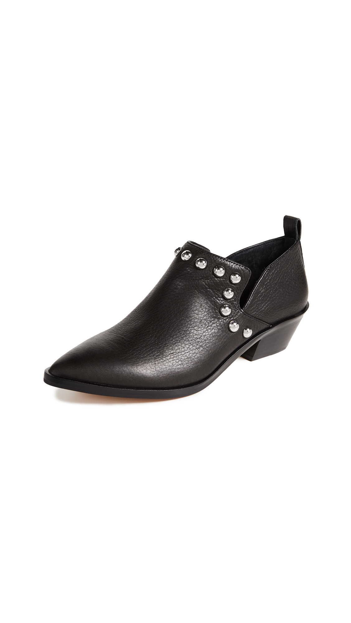 Rebecca Minkoff Katen Studded Booties - Black