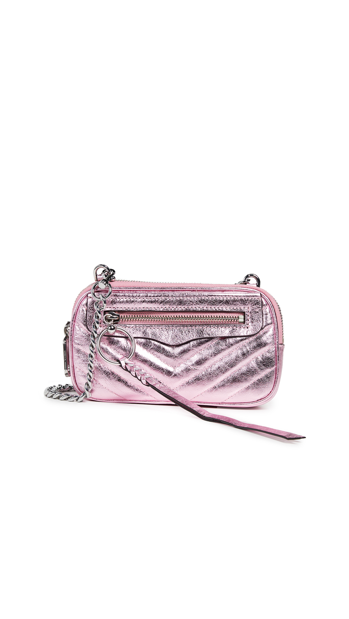 Rebecca Minkoff Chevron Double Zip Crossbody Bag