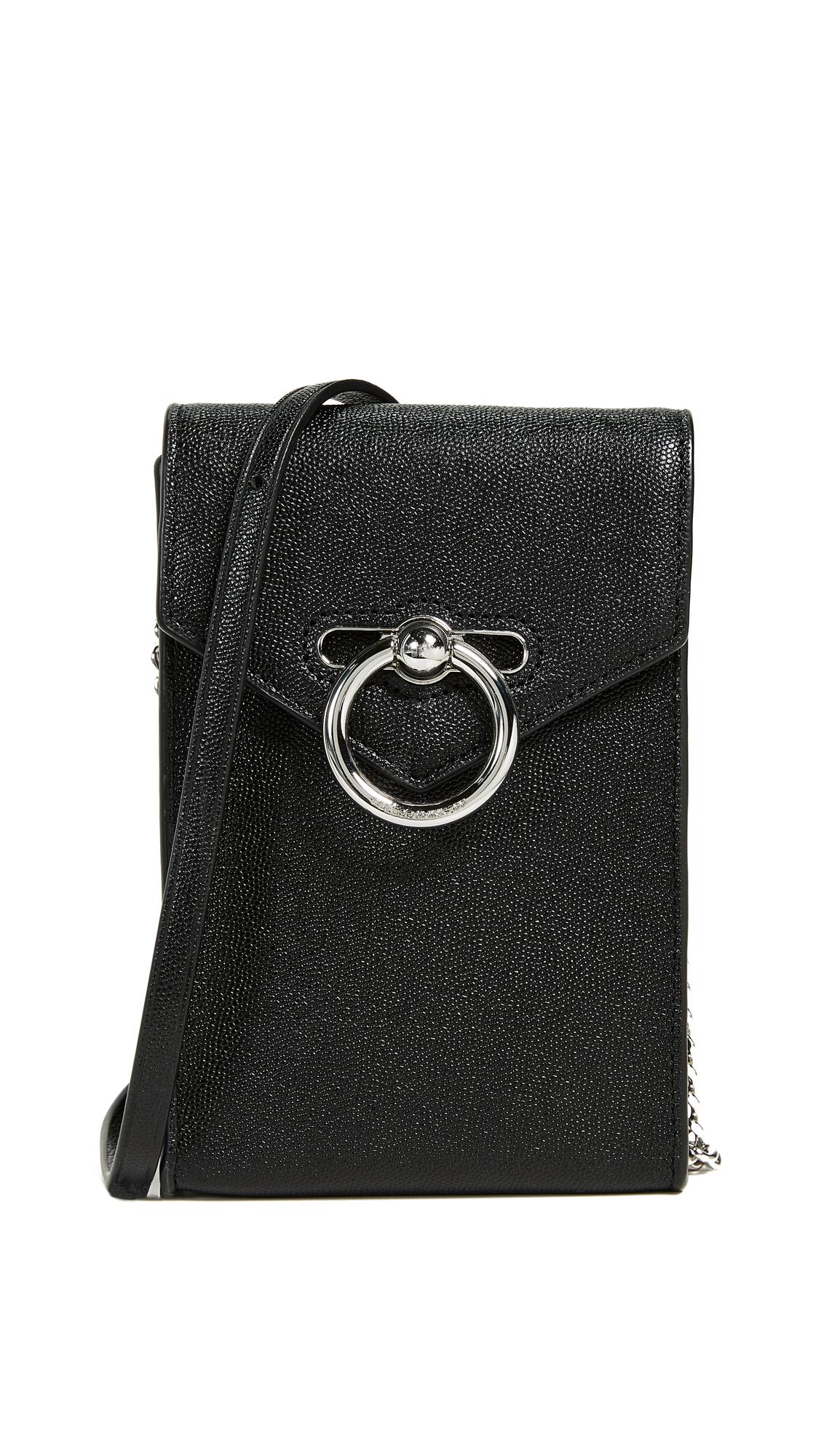 d70bcbb9d7496 Rebecca Minkoff Jean Phone Crossbody Bag In Black