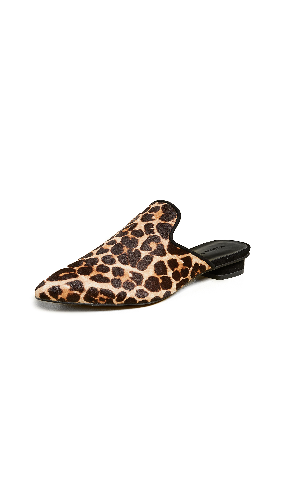 Rebecca Minkoff Chamille Too Point Toe Mules - Leopard