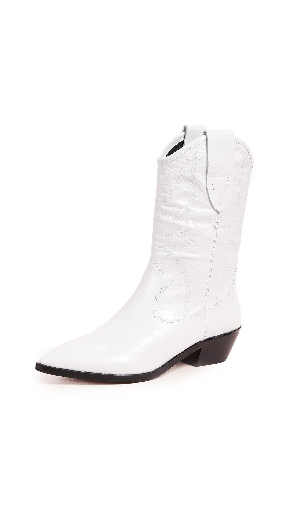 Rebecca Minkoff Kaiegan Western Boots - White