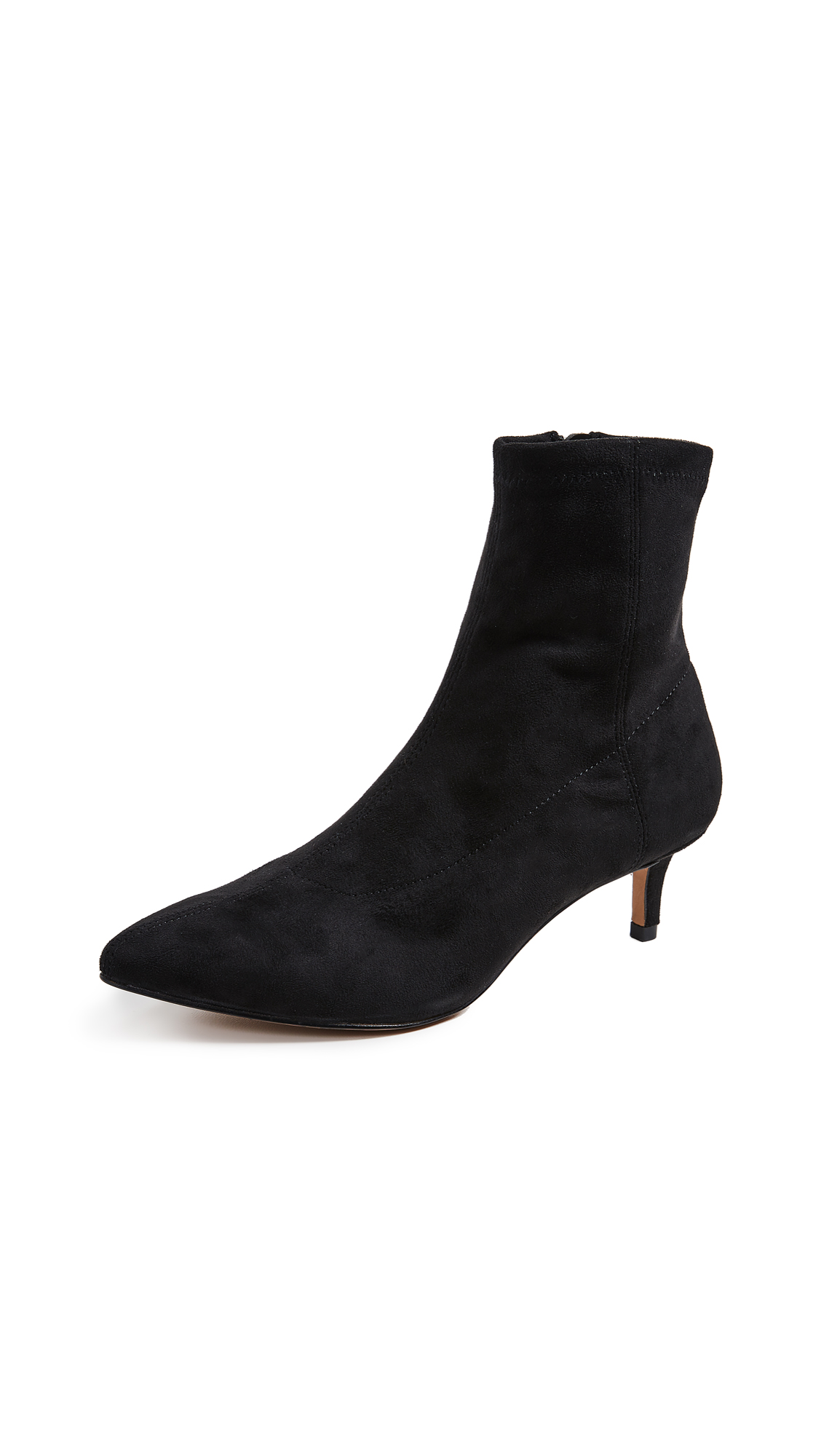 Rebecca Minkoff Sayres Kitten Heel Booties - Black