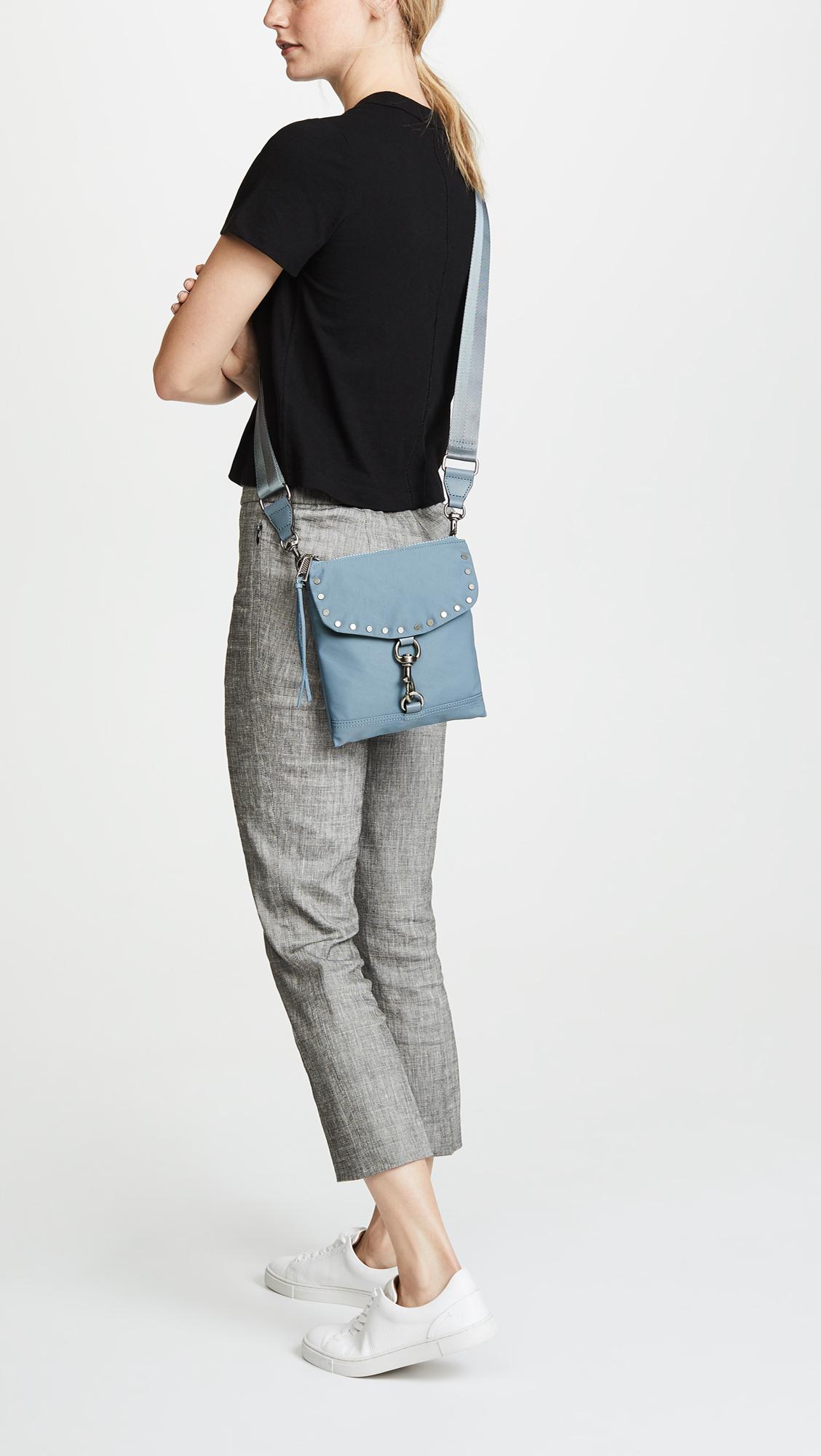 41c549c3f Rebecca Minkoff Nylon Flap Cross Body Bag | SHOPBOP