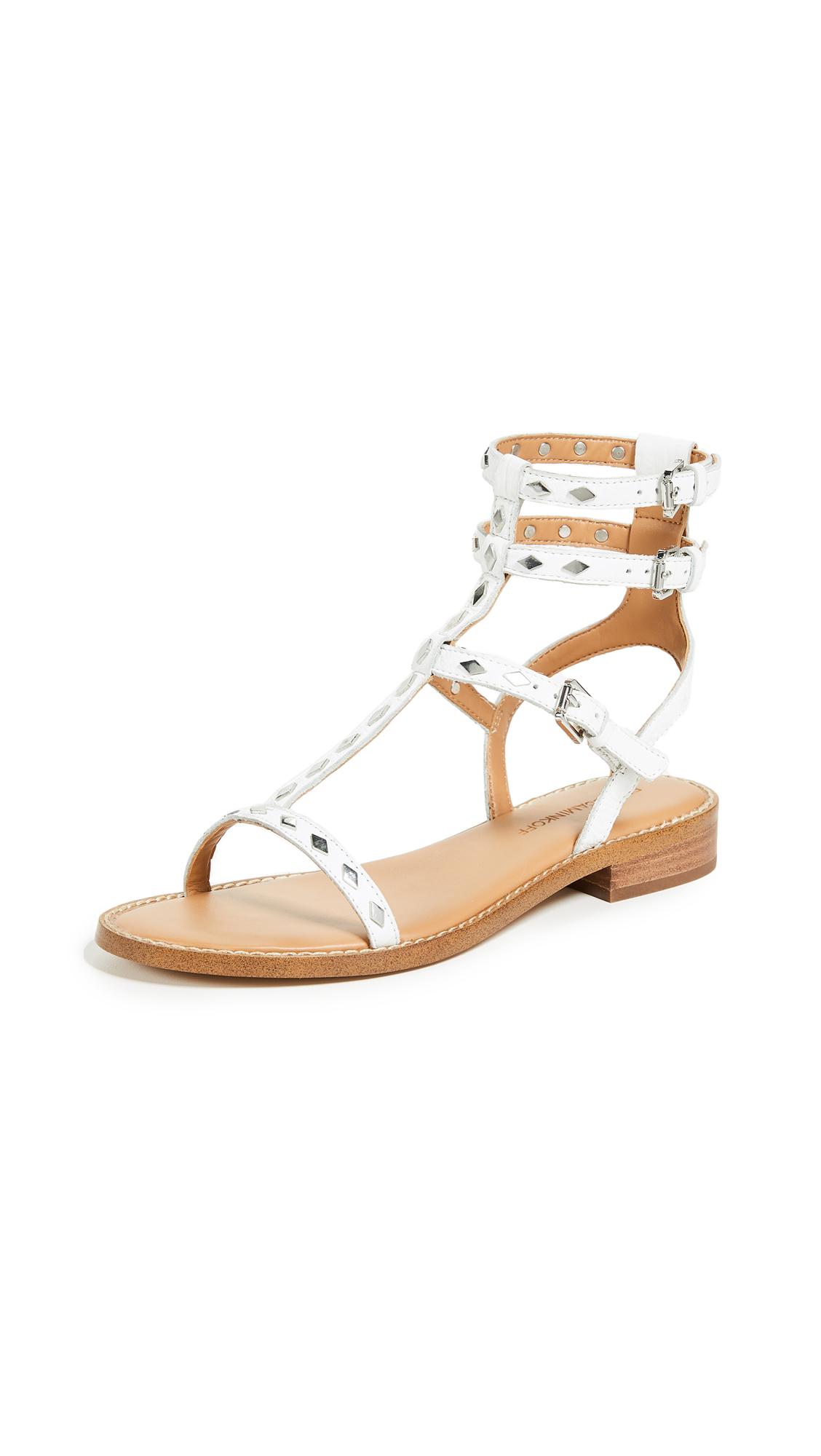 Rebecca Minkoff Arella Strappy Sandals - White