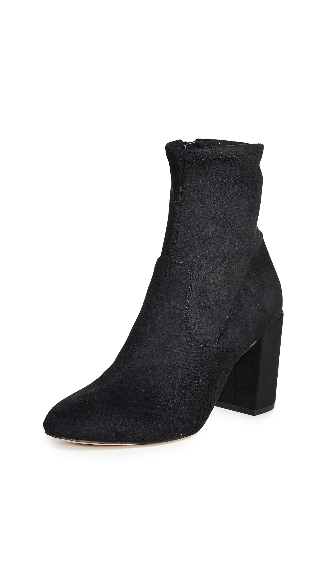 Rebecca Minkoff Gianella Block Heel Booties - Black