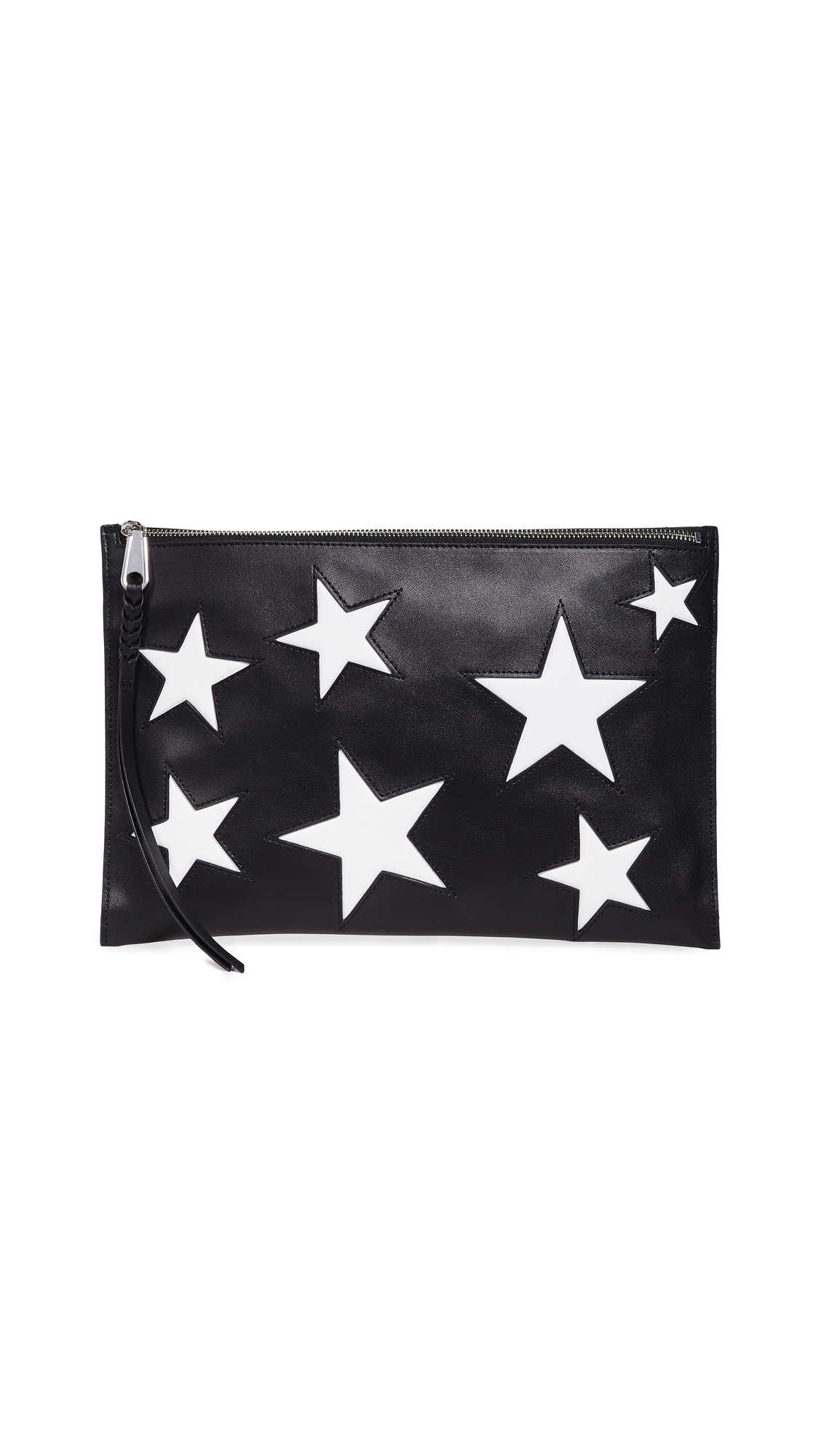 Rebecca Minkoff Multi Star Large Zip Pouch