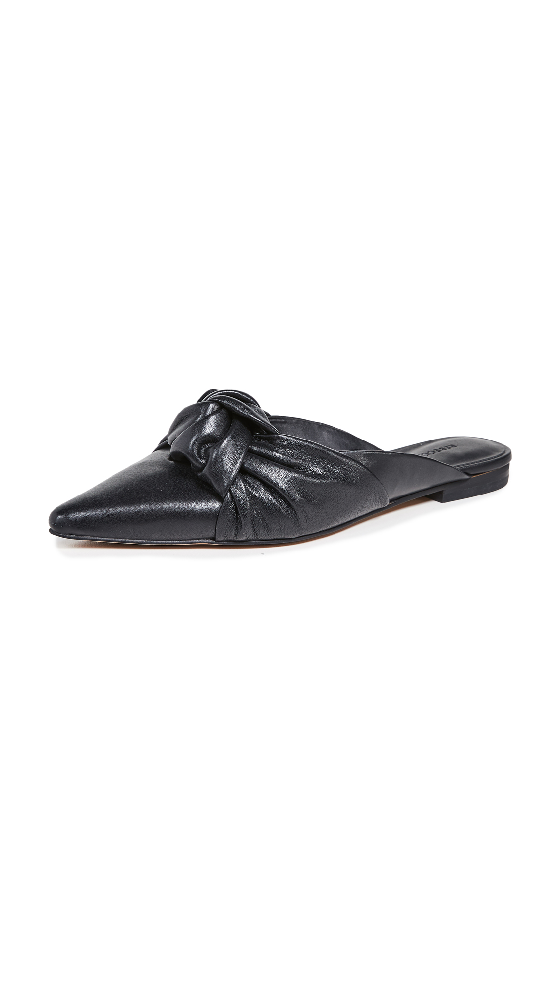 Rebecca Minkoff Coretta Point Toe Mules - Black
