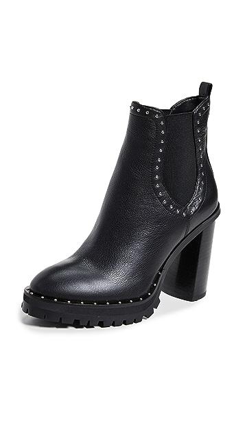 Photo of  Rebecca Minkoff Edolie Block Heel Chelsea Boots- shop Rebecca Minkoff Boots, Flat online sales