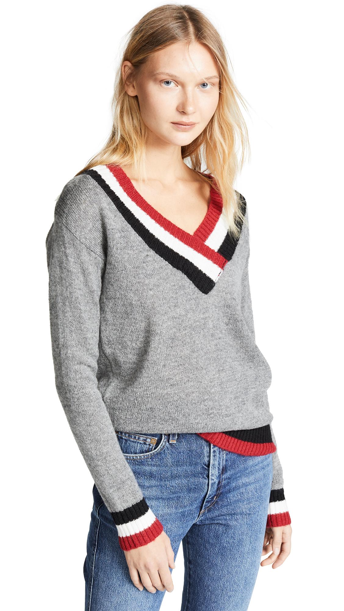 Rebecca Minkoff Fin Sweater - Heather Grey