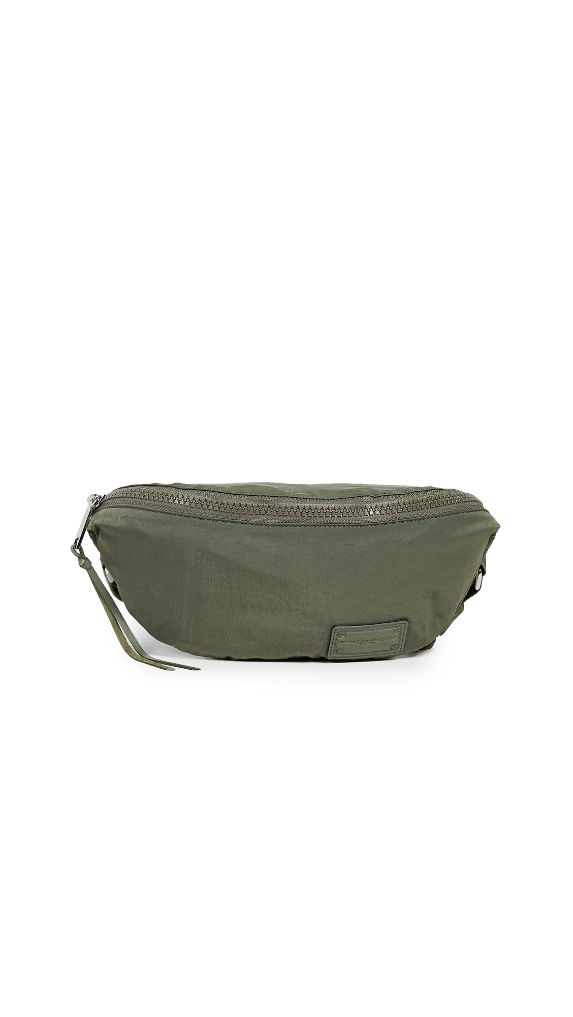 Nylon Belt Bag, Olive