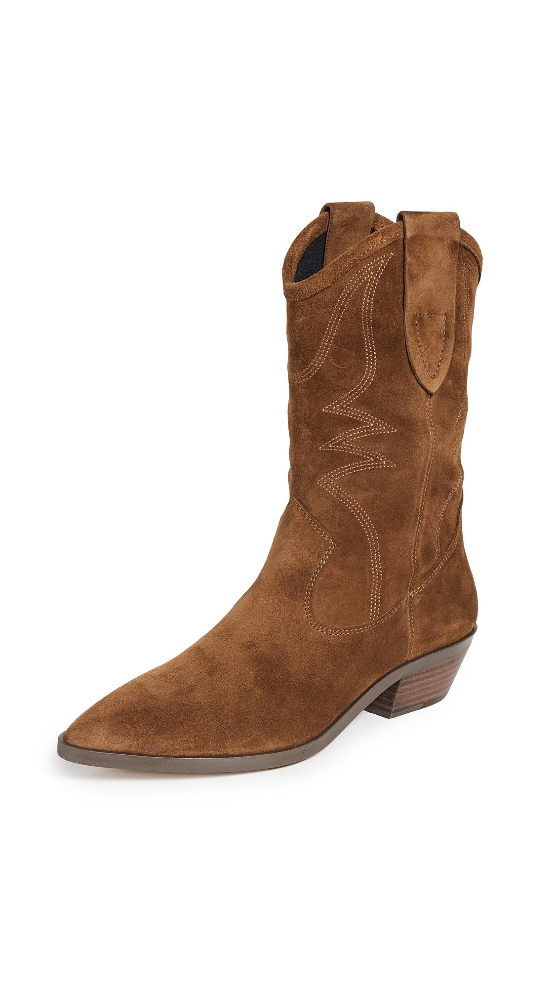 Rebecca Minkoff Kaiegan Western Boots - Saddle