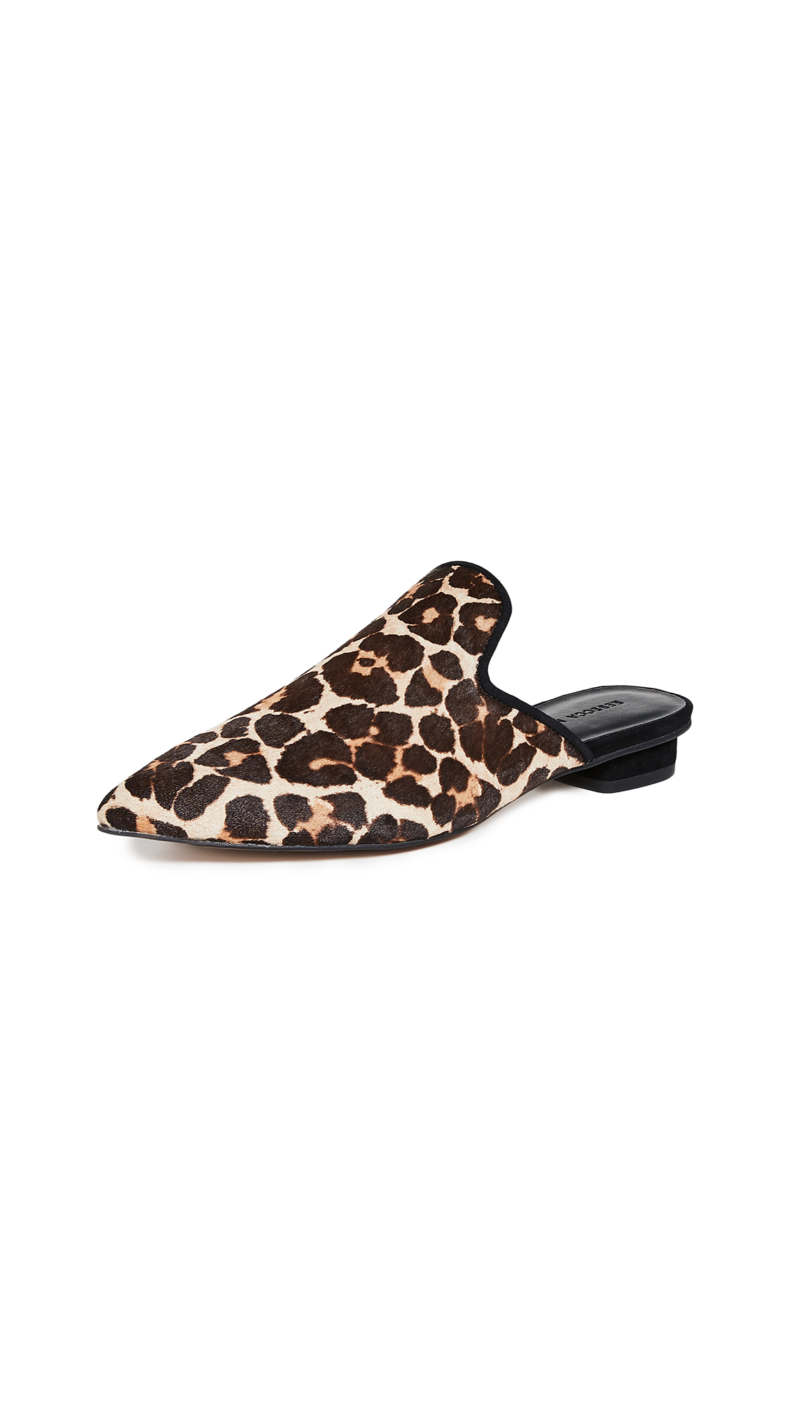 Rebecca Minkoff Chamille Too Mules - Leopard