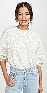 Rebecca Minkoff Leopard Rosie Sweatshirt