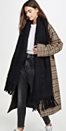 Rebecca Minkoff 梭织毯式围巾